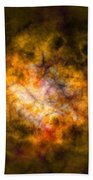 Abstract Stars Nebula Bath Towel