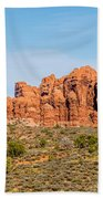 Arches National Park  Moab  Utah  Usa Bath Towel