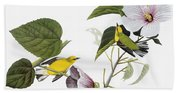 Audubon Warbler Bath Towel