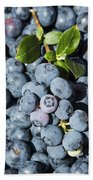 Blueberry Harvest Hand Towel