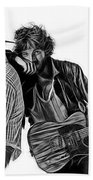 Bruce Springsteen Clarence Clemons Collection Bath Towel