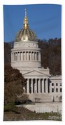 Capital Of West Virginia In Charleston Bath Towel