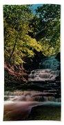 Cascadilla Gorge Falls Bath Towel