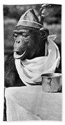 Chimpanzee Bath Towel