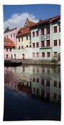 City Of Bydgoszcz In Poland Bath Towel