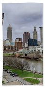 Cleveland Skyline Bath Towel