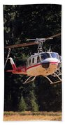 Climber Rescue Operation In Yosemite Hand Towel