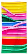 Colorful Plastic Bath Towel