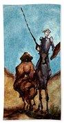 Don Quixote  Bath Towel
