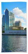 Downtown Tampa Fl, Usa Hand Towel
