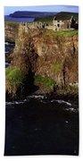 Dunluce Castle, Co. Antrim, Ireland Bath Towel