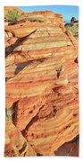 Early Morning In Valley Of Fire Bath Towel