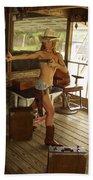 Everglades Cowgirl Bath Towel