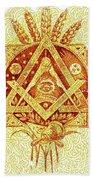 Freemason Symbolism Hand Towel