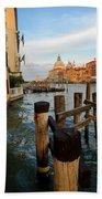 Grand Canal, Venice, Italy Bath Towel