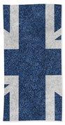 Great Britain Denim Flag Hand Towel
