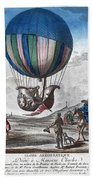 Hydrogen Balloon, 1783 Bath Towel