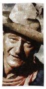 John Wayne Hollywood Actor Bath Towel