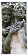 Kerepesi Cemetery, Budapest Bath Towel