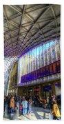 Kings Cross Rail Station London Bath Towel