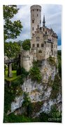 Lichtenstein Castle - Baden-wurttemberg - Germany Bath Towel