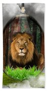 Lion Art Bath Towel