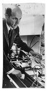 Melvin Calvin, American Chemist Bath Towel