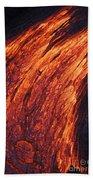 Molten Pahoehoe Lava Hand Towel