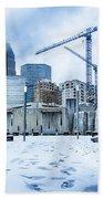 Rare Winter Weather In Charlotte North Carolina Bath Towel