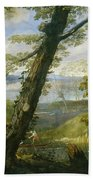 River Landscape Bath Towel