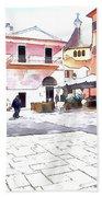 San Felice Circeo Square Bath Towel