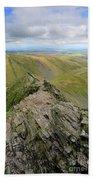 Sharpe Edge On Blencathra Fell, Lake District National Park Bath Towel