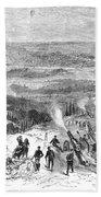 Siege Of Paris, 1870 Bath Towel