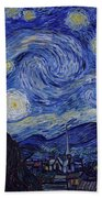 Starry Night Hand Towel