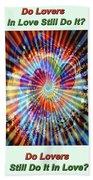 Supernova Of Love Bath Towel
