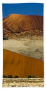 The Dunes Of Sossusvlei Bath Towel