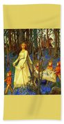 The Fairy Wood Henry Meynell Rheam Bath Towel