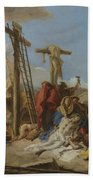 The Lamentation At The Foot Of The Cross Bath Towel