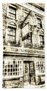 The Prospect Of Whitby Pub London Vintage Bath Towel