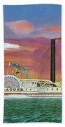 The Steamship Syracuse Bath Towel