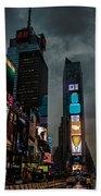 Times Square Nyc Bath Towel