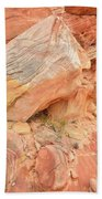 Wash 3 Color In Valley Of Fire Bath Towel