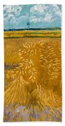Wheat Field Bath Towel