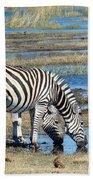 Zebra Bath Towel