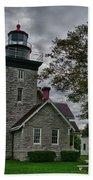30-mile Point Lighthouse 3197 Bath Towel