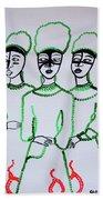 Five Wise Virgins Bath Towel