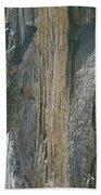 310218-e Face Longs Peak The Diamond Bath Towel