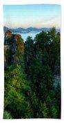 Landscape Paintings Bath Towel