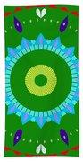 Mandala Ornament Bath Towel