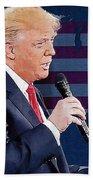 Donald Trump Bath Towel